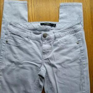 women's size 5 Boom Boom Jeans White